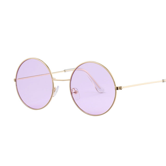 Vintage Round Sunglasses - Mirror Sunglasses - Summer Fashion Glasses - The Voyage Collection