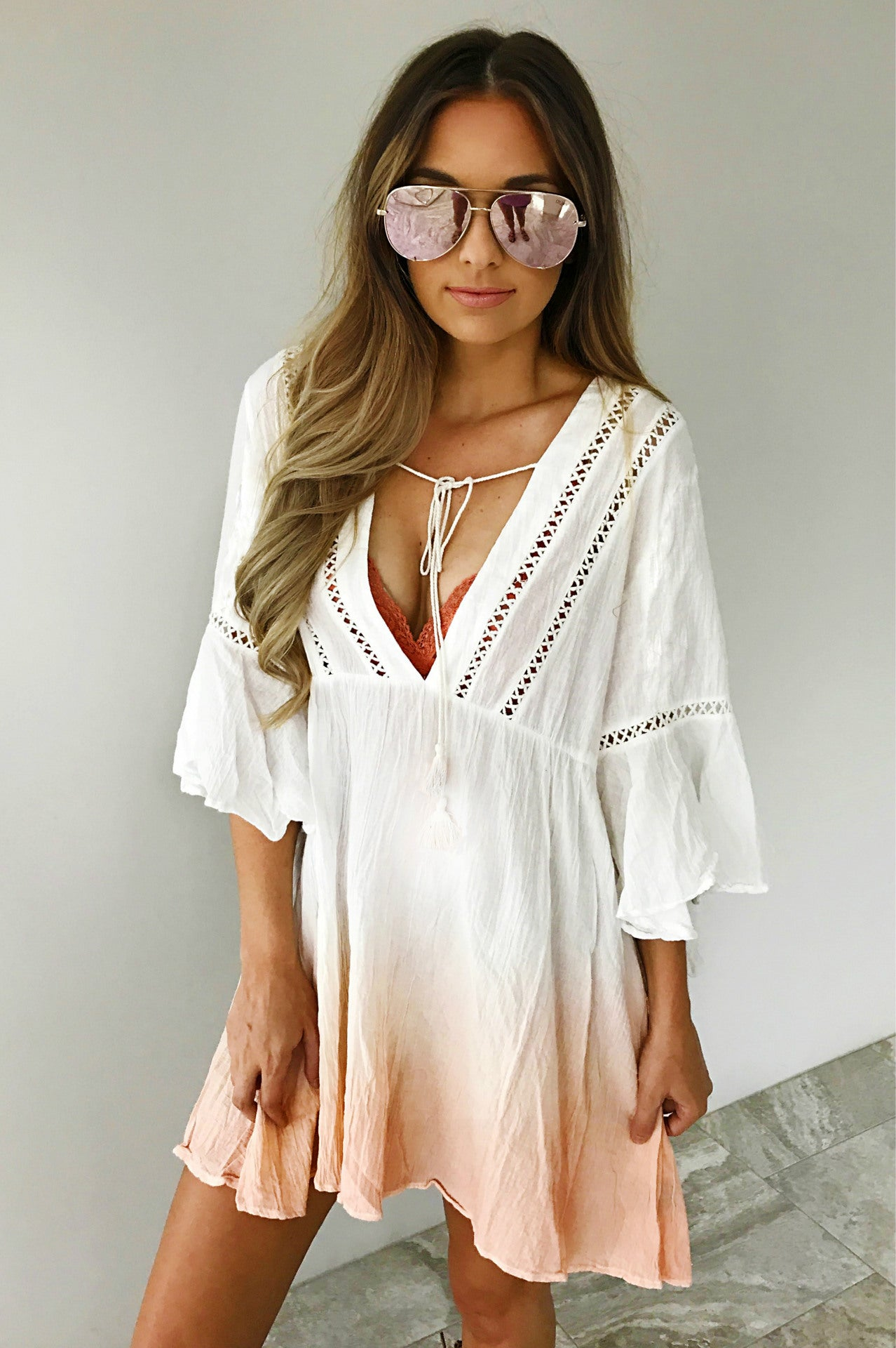Cute Summer Dress - Swimwear Tunic Coverups - The Voyage Collection