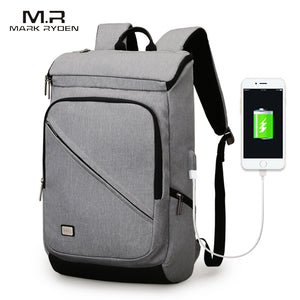 Retro Style - USB Charging Business Backpack Backpack - The Voyage Collection
