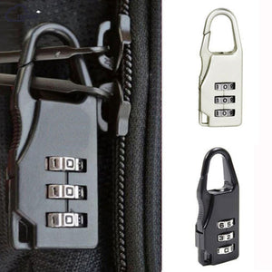 3 Digit Padlock for Travel - Luggage Accessories /Travel Accessories  - The Voyage Collection