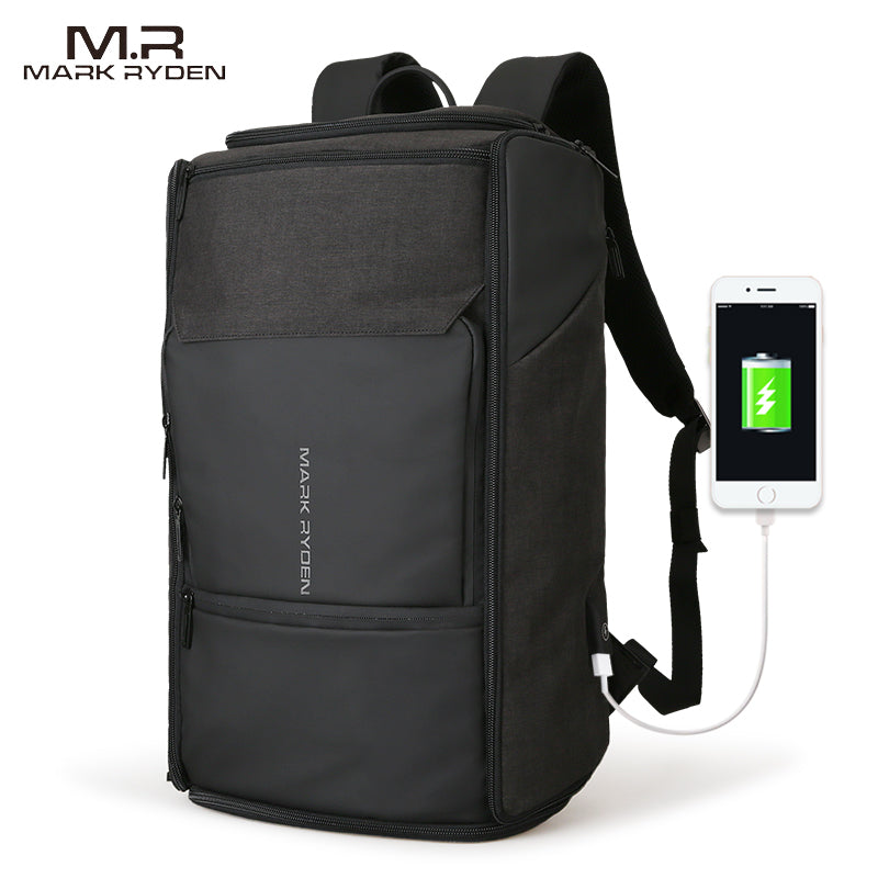 New USB Charging High Capacity Backpack Backpack - The Voyage Collection