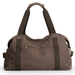 Vintage Canvas Duffle Bag - High Capacity Travel Bag Duffle - The Voyage Collection