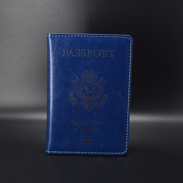 Passport Cover - Protective Case Organizer - The Voyage Collection