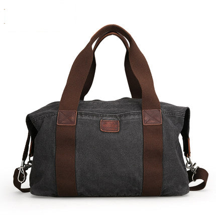 Vintage Canvas Travel Bag - Washed Vintage Finish Duffle - The Voyage Collection