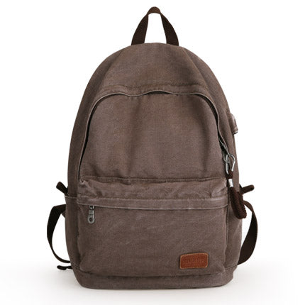 Vintage Canvas Backpack - Stylish Design Backpack - The Voyage Collection