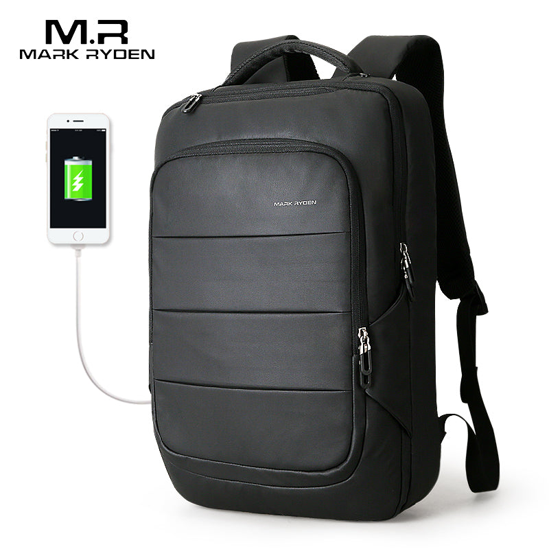 New Arrival - Water Resistant Backpack USB Recharging Backpack Backpack - The Voyage Collection
