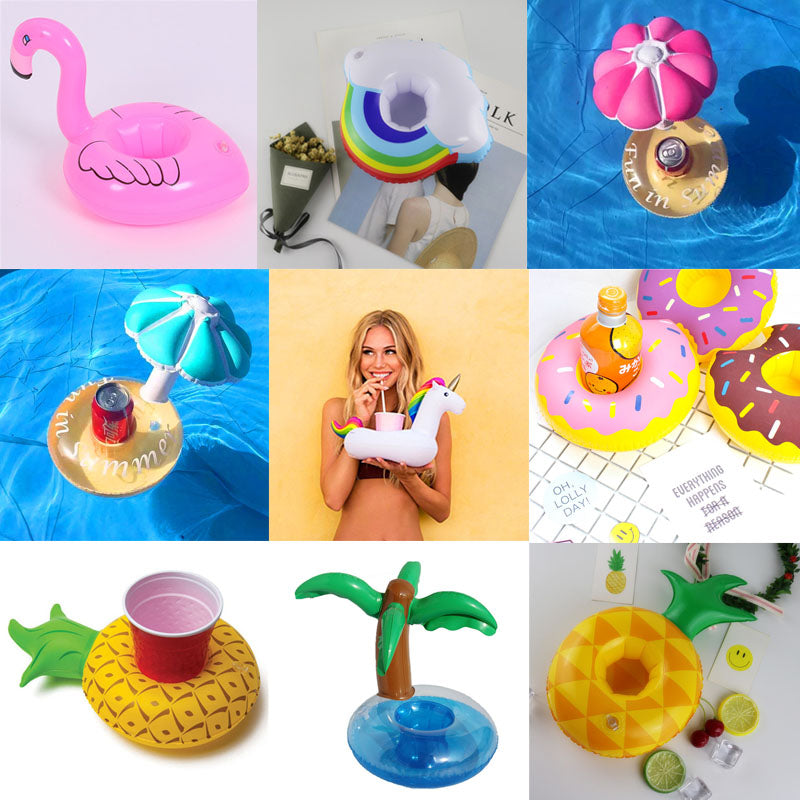 Floatie Coasters - Inflatable cup holder for Summer Fun Floaties - The Voyage Collection