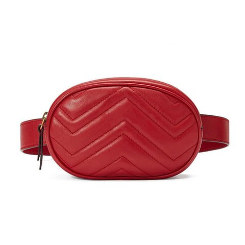 Luxury Fanny Pack - PU Leather - Vintage Summer Fashion