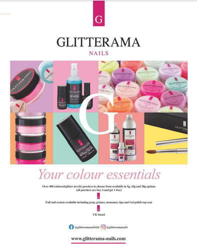 Glitterama Nails features in The Salon Magazine!