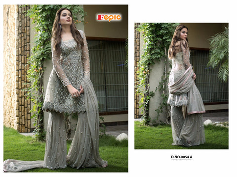 Sanober Hit Pakistani Designer Party Wear Sarara Suit