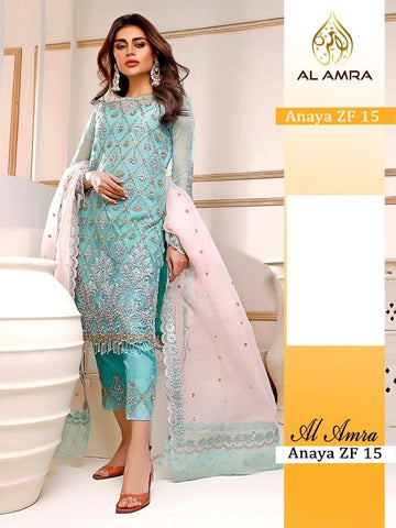 Anaya Pakistani Designer Super Hit Party Wear Dress