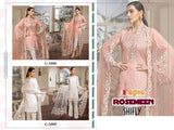 Rosemeen Designer Pure Cotton Shifly Embroidered Lawn Suit - AliShaif