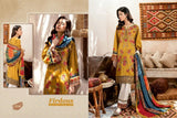 Firdous Pakistani Designer Exclusive Pure Jam Cotton Embroidered Dress - AliShaif