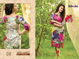 Asifa Nabeel Designer Pure Cotton Cambric Embroidered Lawn Suit - AliShaif
