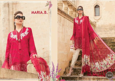 Maria B Pakistani Designer Hit Embroidered Lawn Suit