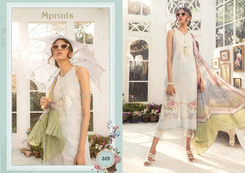 Mprints Pakistani Designer Hit Stylish Premium Lawn Suit