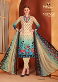 Daily Wear Meenaz Cotton Printed Shalwar Suit