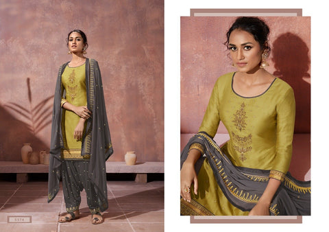 Classic Designer Festive Collection Patiala Embroidered Dress - AliShaif