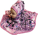 Pinkish Digital Printed Hijab - AliShaif