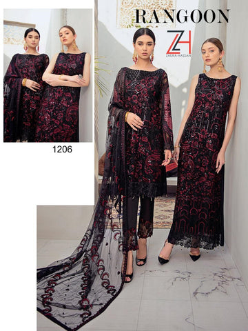 Zaura Hassan Pakistani Designer Party Wear Dress