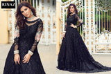 Rinaz Pakistani Designer Gown Style Embroidered Party Wear Dress