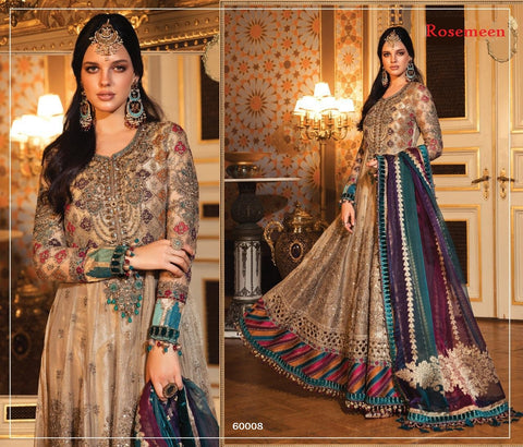 Rosemeen Mbroidered Collection Wedding & Party Wear Anarkali Dress
