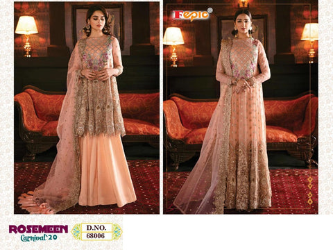 Rosemeen Pakistani Designer Festive & Party Wear Embroidered Dress - AliShaif