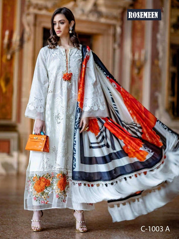 Rosemeen Pakistani Designer Super Hit Embroidered Lawn Suit