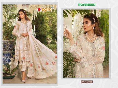 Rosemeen Pakistani Designer Hit Party Wear Embroidered Dress - AliShaif