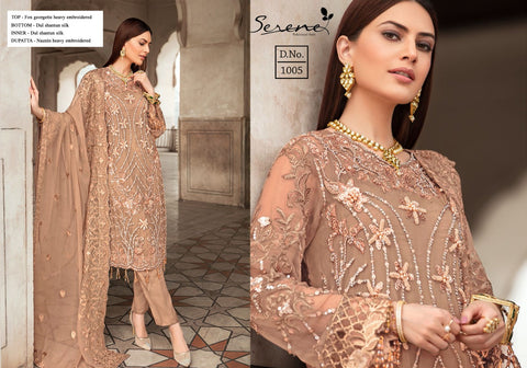 Serene Pakistani Designer Wedding & Party Wear Suit