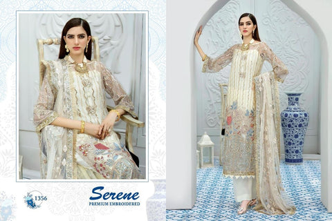 Serene Pakistani Designer Wedding & Party Wear Dress - AliShaif