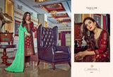 Taslim Designer Party Wear Meenakari Jacquard Fancy Dress - AliShaif