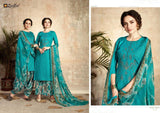 Zulfat Designer Pure Heavy Jam Cotton Embroidered Dress - AliShaif