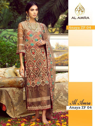Anaya Pakistani Designer Traditional Hit Party Wear Dress - AliShaif