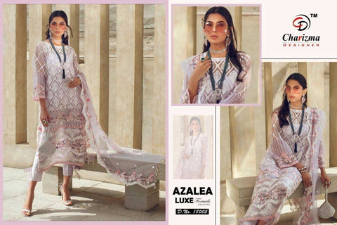 Charizma Pakistani Designer Azalea Luxe Hit Luxury Party Wear Dress - AliShaif