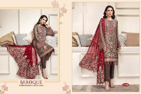 Baroque Pakistani Designer Wedding Collection Embroidered dress