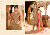 Mehreen Belliza Designer Pure Tusser Silk Fancy Embroidered Dress - AliShaif