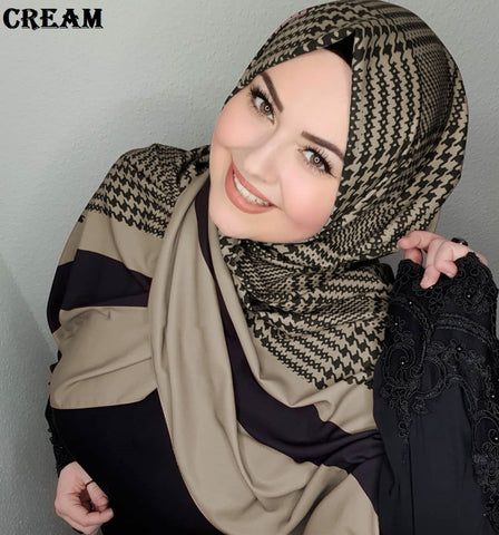 Turkish Multi-color Hijab/Scarf