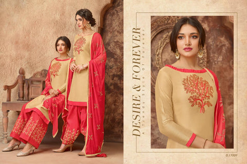 Royal Hit Designer Festive Wear Embroidered Dress - AliShaif