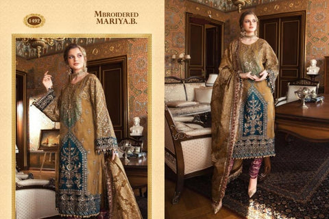 Mariya B Mbroidered Collection Wedding & Party Wear Dress