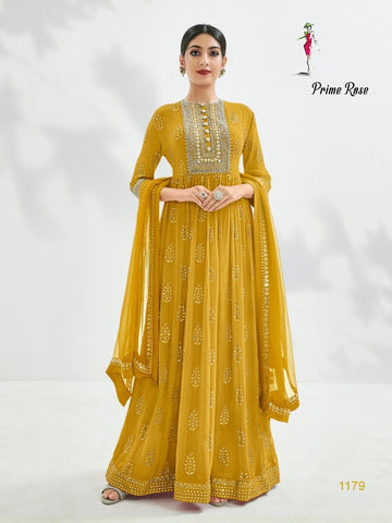Prime Rose Classic Designer Festive & Party Wear Dress - AliShaif
