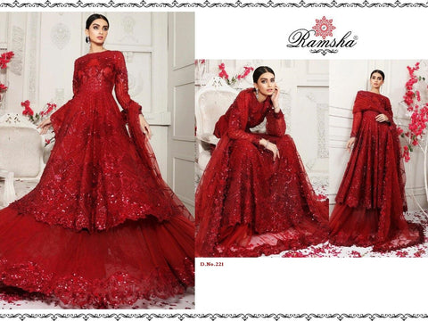 Ramsha Pakistani Designer Wedding & Party Wear Dress