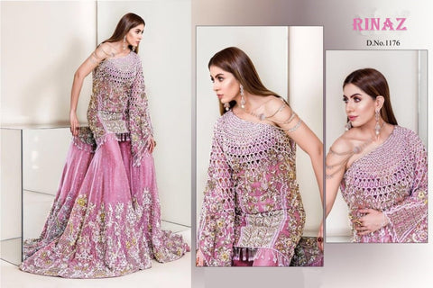 Rinaz Pakistani Designer Dashing Wedding & Party Wear Dress