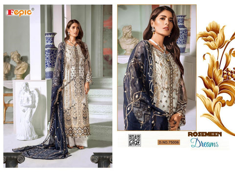 Rosemeen Pakistani Designer Stylish Luxury Party Wear Dress