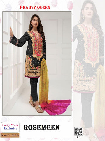 Rosemeen Pakistani Designer Luxury Party Wear Suit - AliShaif