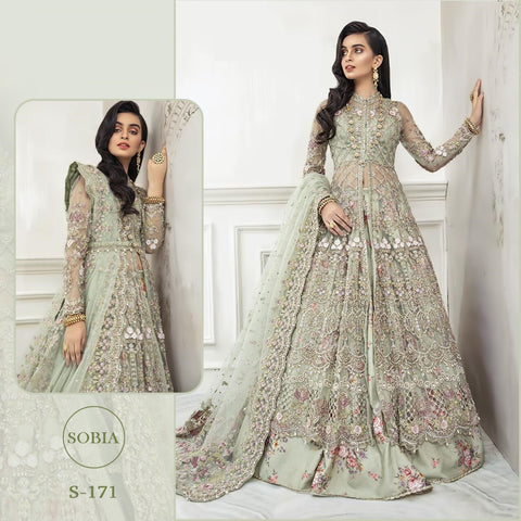 Sobia Pakistani Designer Super Hit Gown Style Dress