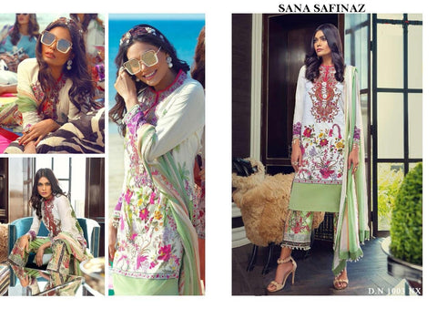 Sana Safinaz Spring Summer Collection 2020 Lawn Suit - AliShaif