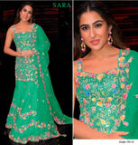 Sara Gold Designer Hit 2021 Stylish Party Wear Embroidered Dress