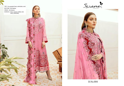 Serene Pakistani Designer Hit Wedding & Party Wear Suits