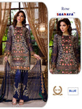 Rose Hit Pakistani Designer Wedding & Party Wear Dress